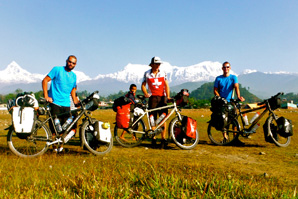 Diego, Christoph und Pascal aus der Schweiz