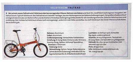 Radwelt: Faltrad