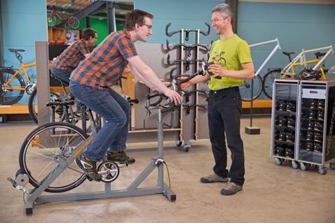 Fahrrad-Anpassung konkret