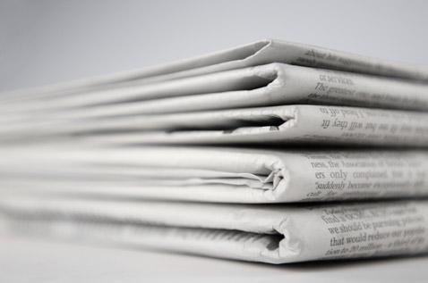 Symbolbild Zeitungen